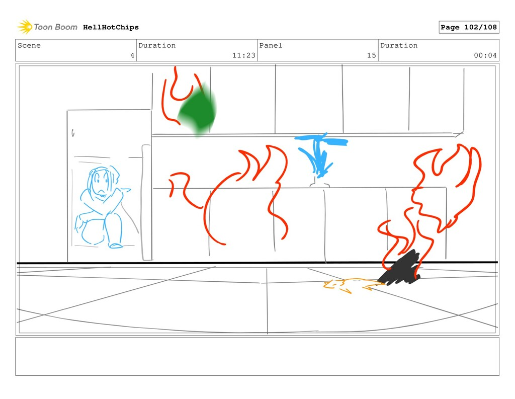 Scene 4 Duration 11:23 Panel 15 Duration 00:04 ...
