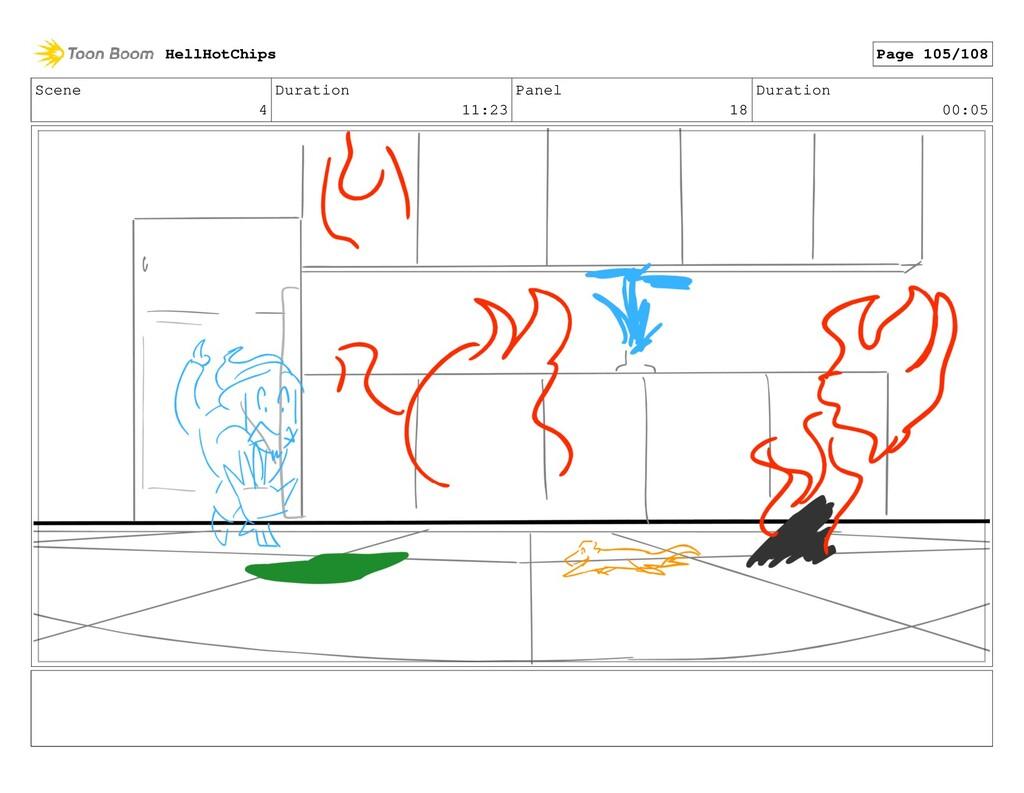 Scene 4 Duration 11:23 Panel 18 Duration 00:05 ...