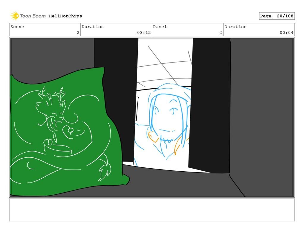 Scene 2 Duration 03:12 Panel 2 Duration 00:04 H...