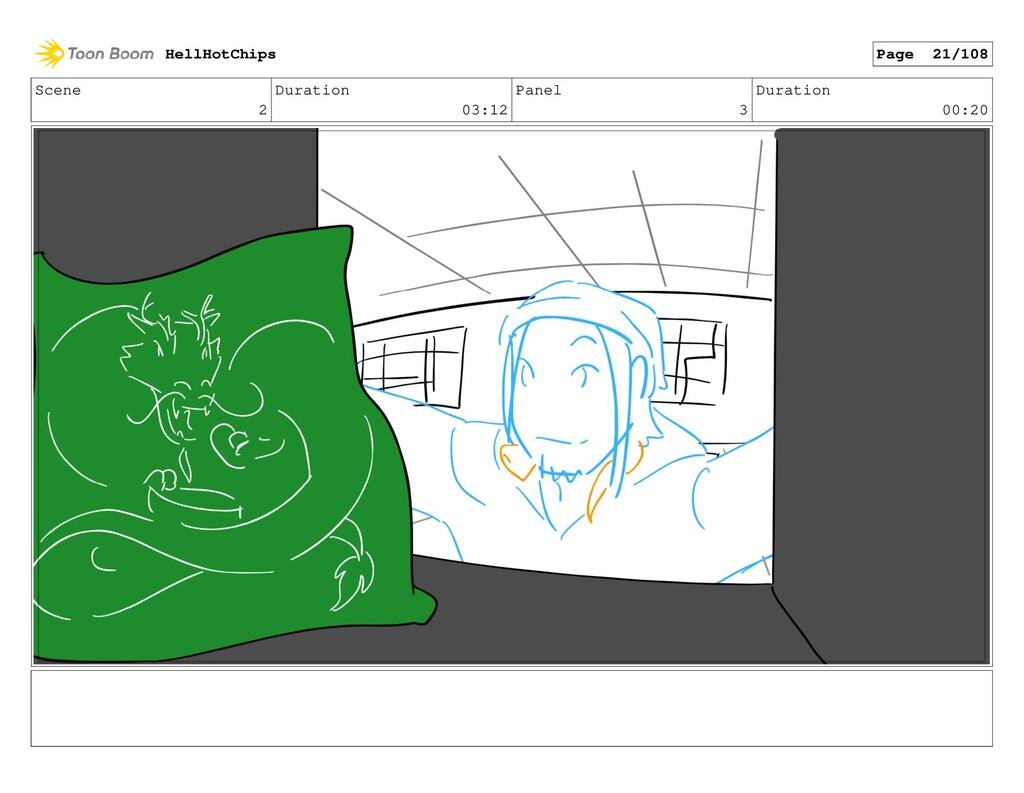 Scene 2 Duration 03:12 Panel 3 Duration 00:20 H...
