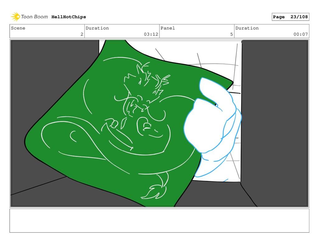 Scene 2 Duration 03:12 Panel 5 Duration 00:07 H...