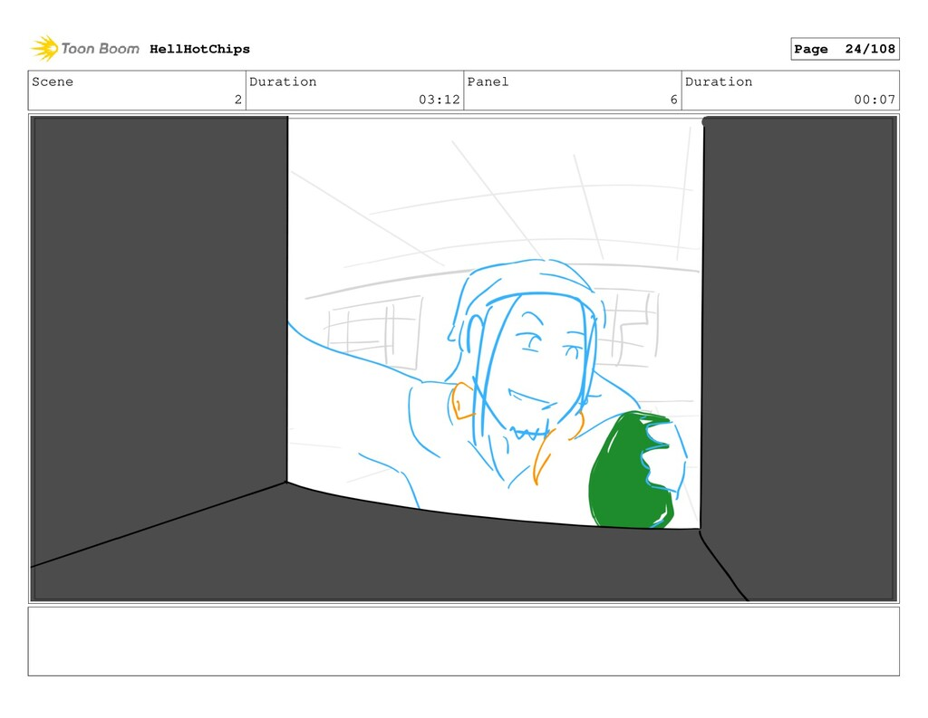 Scene 2 Duration 03:12 Panel 6 Duration 00:07 H...