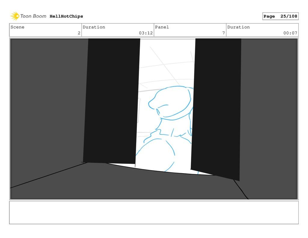 Scene 2 Duration 03:12 Panel 7 Duration 00:07 H...