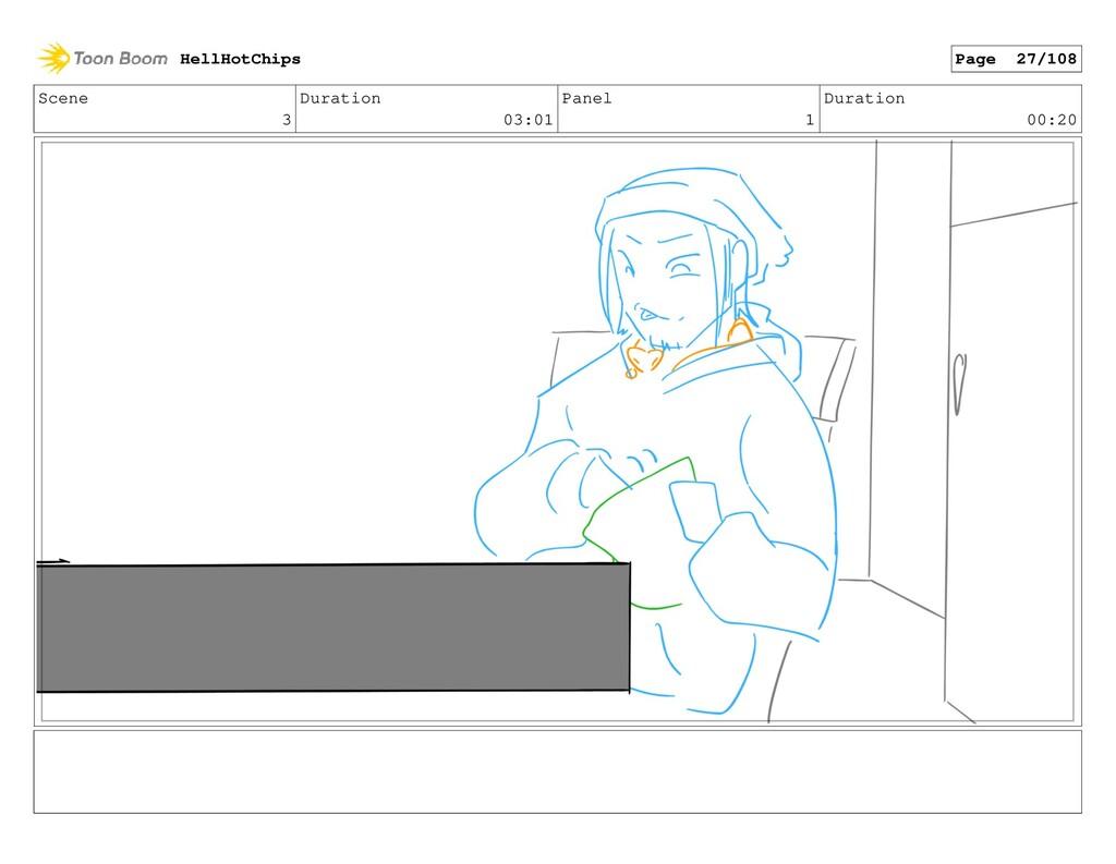 Scene 3 Duration 03:01 Panel 1 Duration 00:20 H...