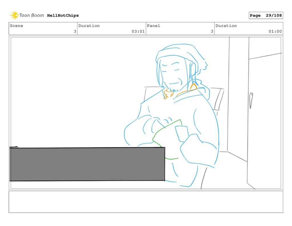 Scene 3 Duration 03:01 Panel 3 Duration 01:00 H...