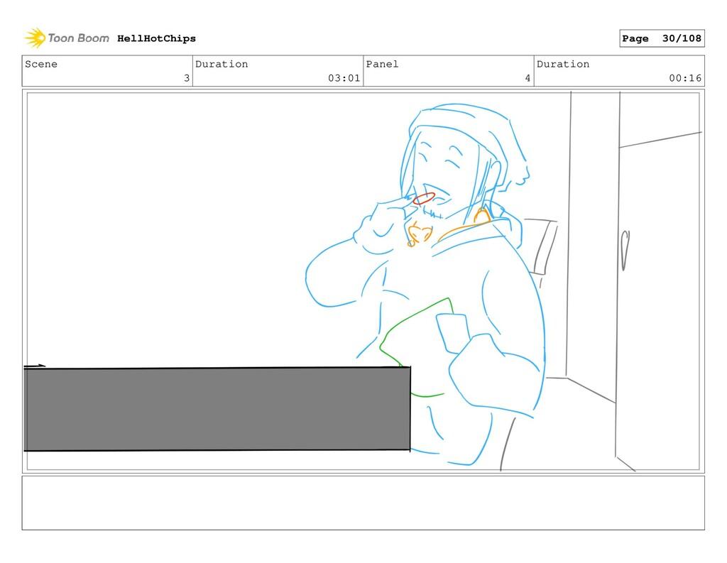 Scene 3 Duration 03:01 Panel 4 Duration 00:16 H...