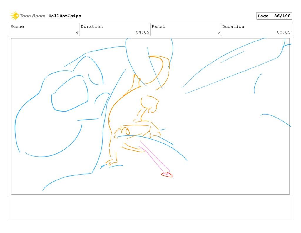 Scene 4 Duration 04:05 Panel 6 Duration 00:05 H...