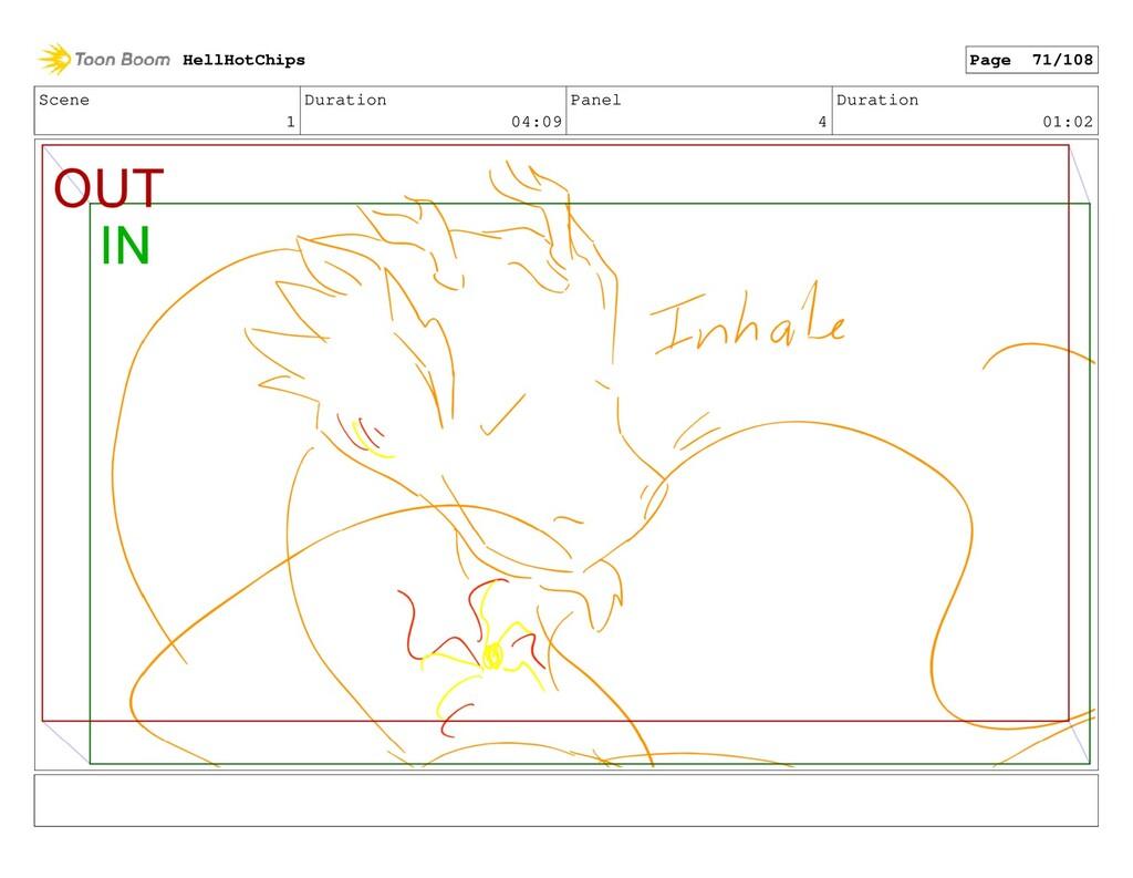 Scene 1 Duration 04:09 Panel 4 Duration 01:02 H...
