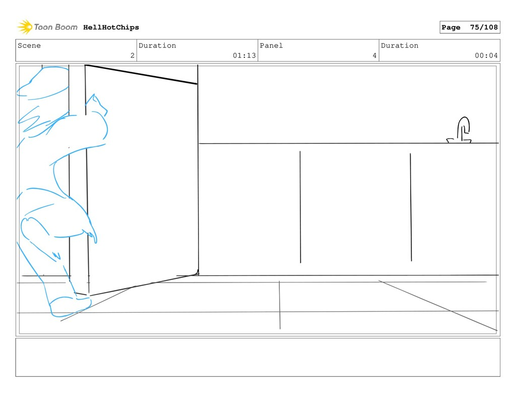 Scene 2 Duration 01:13 Panel 4 Duration 00:04 H...