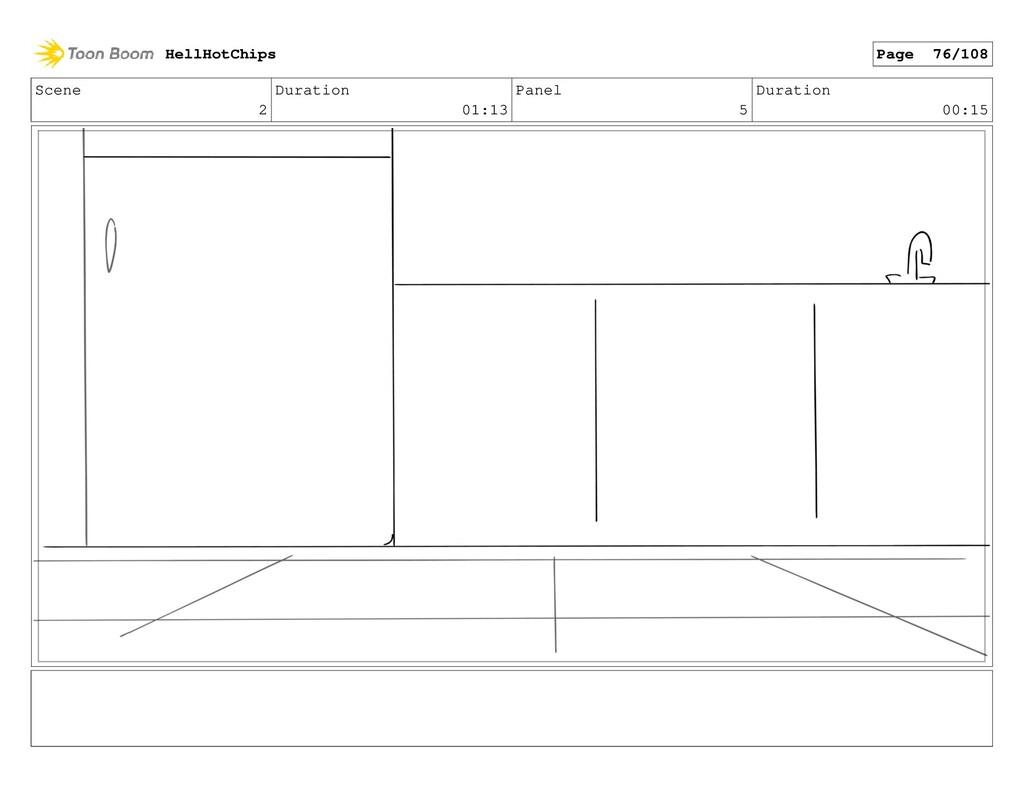 Scene 2 Duration 01:13 Panel 5 Duration 00:15 H...