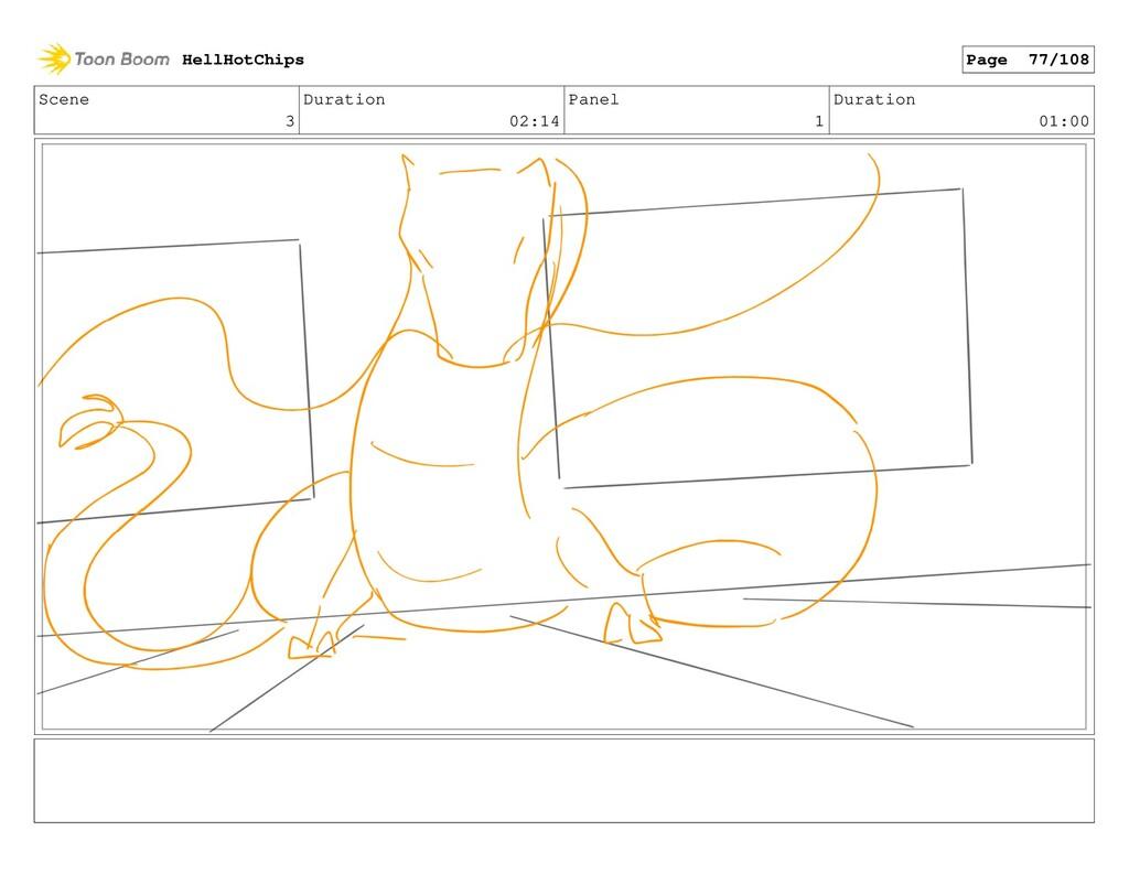 Scene 3 Duration 02:14 Panel 1 Duration 01:00 H...