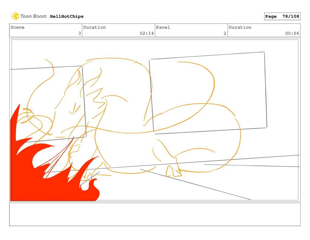 Scene 3 Duration 02:14 Panel 2 Duration 00:06 H...