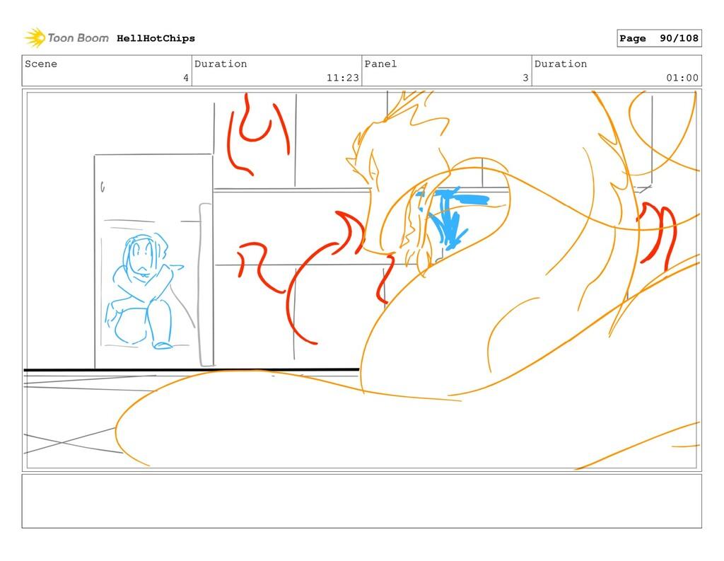 Scene 4 Duration 11:23 Panel 3 Duration 01:00 H...