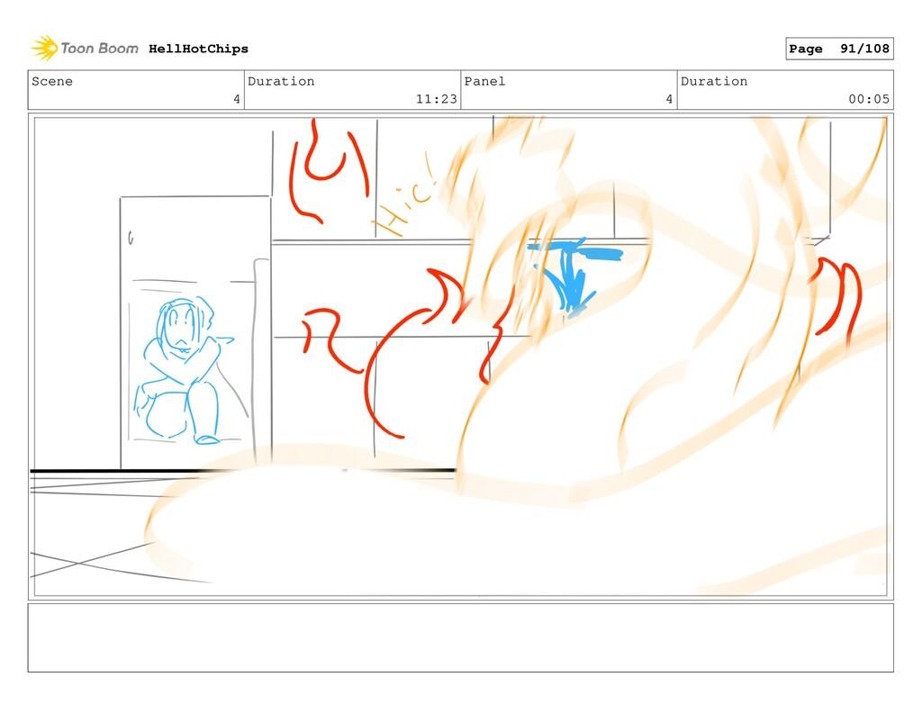 Scene 4 Duration 11:23 Panel 4 Duration 00:05 H...