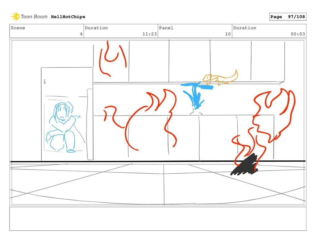 Scene 4 Duration 11:23 Panel 10 Duration 00:03 ...