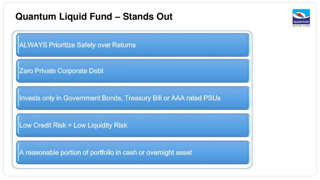 Quantum Liquid Fund – Stands Out ALWAYS Priorit...