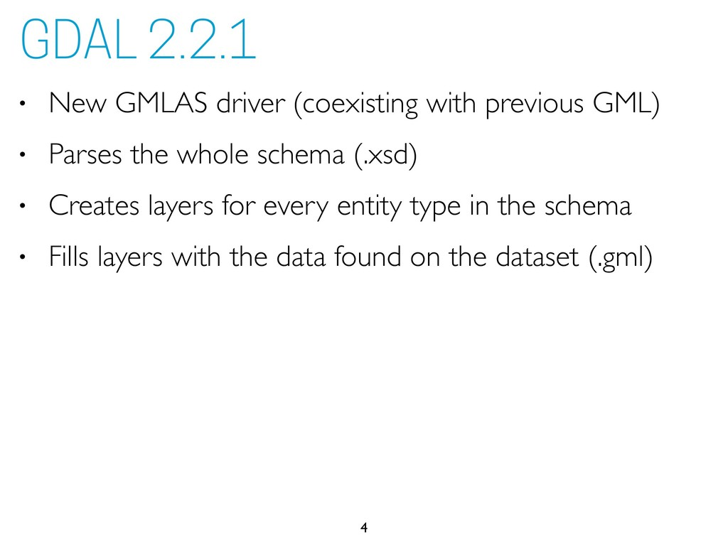 • New GMLAS driver (coexisting with previous GM...