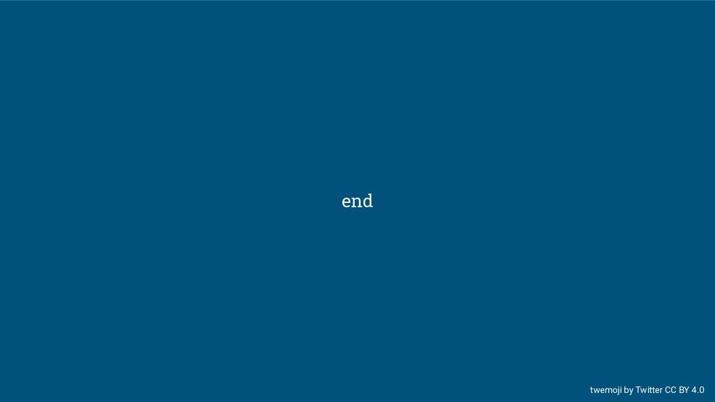 end twemoji by Twitter CC BY 4.0