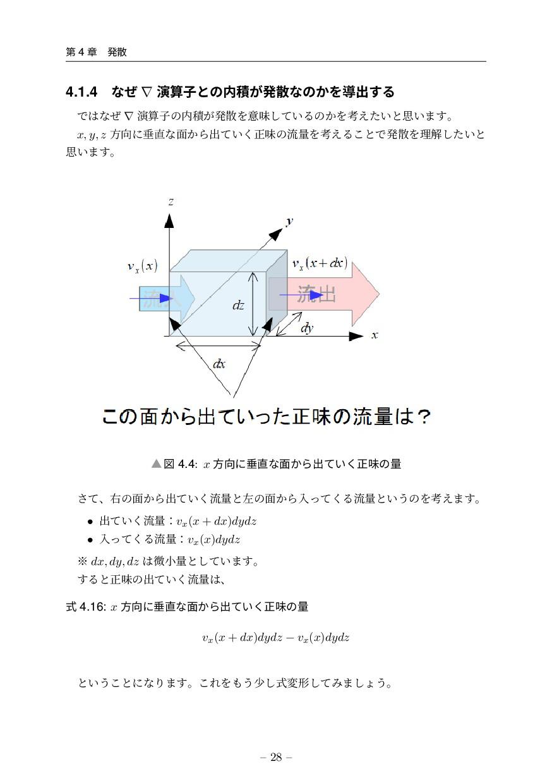 ୈ 4 ষ ൃ 4.1.4 ͳͥ ∇ ԋࢠͱͷੵ͕ൃͳͷ͔Λಋग़͢Δ Ͱͳͥ ∇ ԋ...