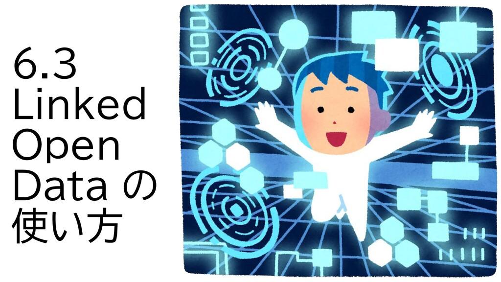 6.3 Linked Open Data の 使い方