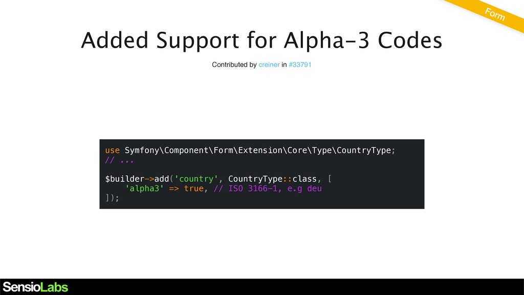 Added Support for Alpha-3 Codes Contributed by ...