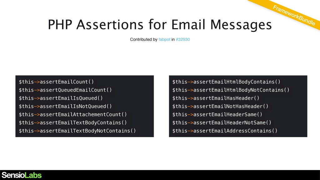 PHP Assertions for Email Messages Contributed b...