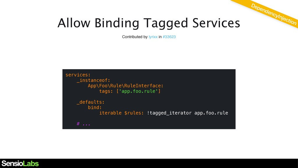 Allow Binding Tagged Services Contributed by ly...