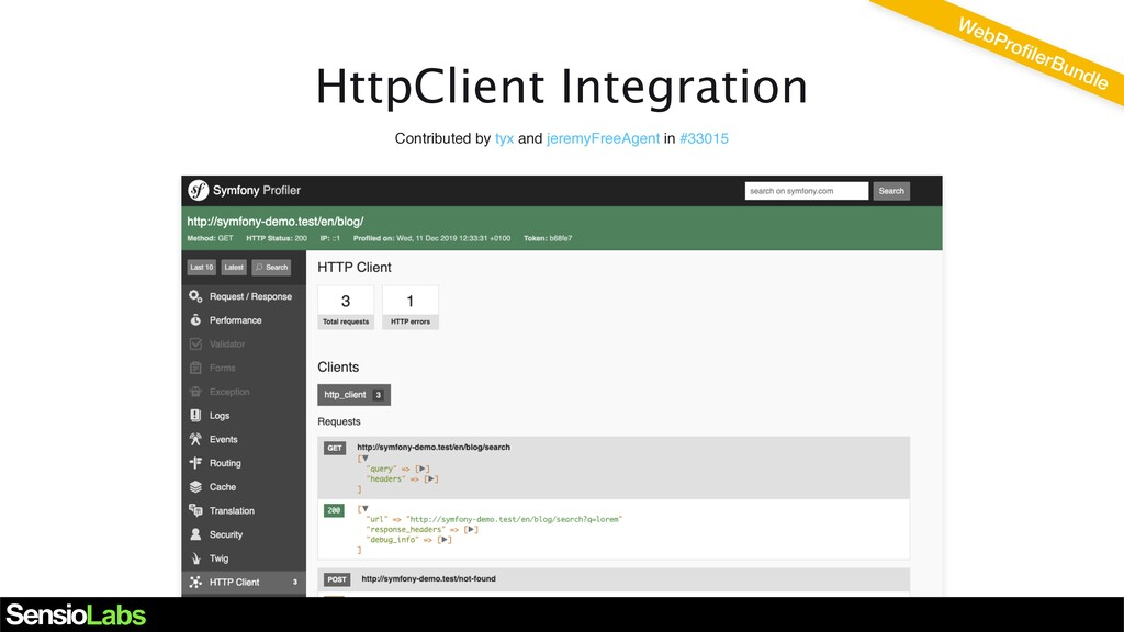 HttpClient Integration Contributed by tyx and j...