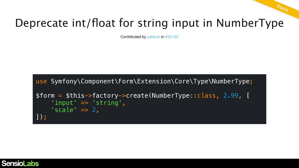 Deprecate int/float for string input in NumberTy...