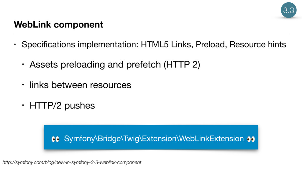 WebLink component • Specifications implementatio...