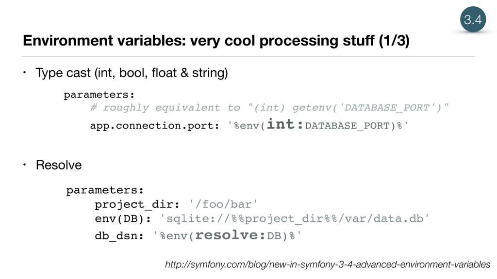 Environment variables: very cool processing stu...
