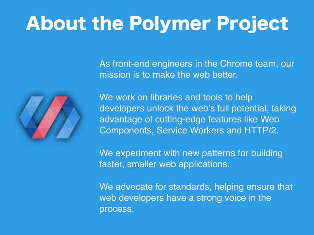 As front-end engineers in the Chrome team, our ...