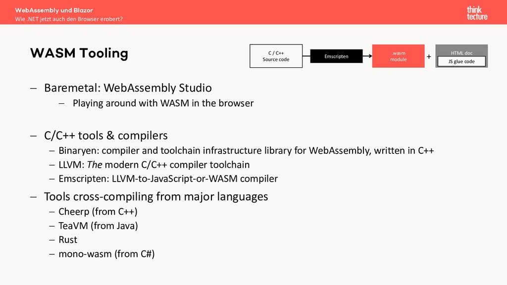 − Baremetal: WebAssembly Studio − Playing aroun...