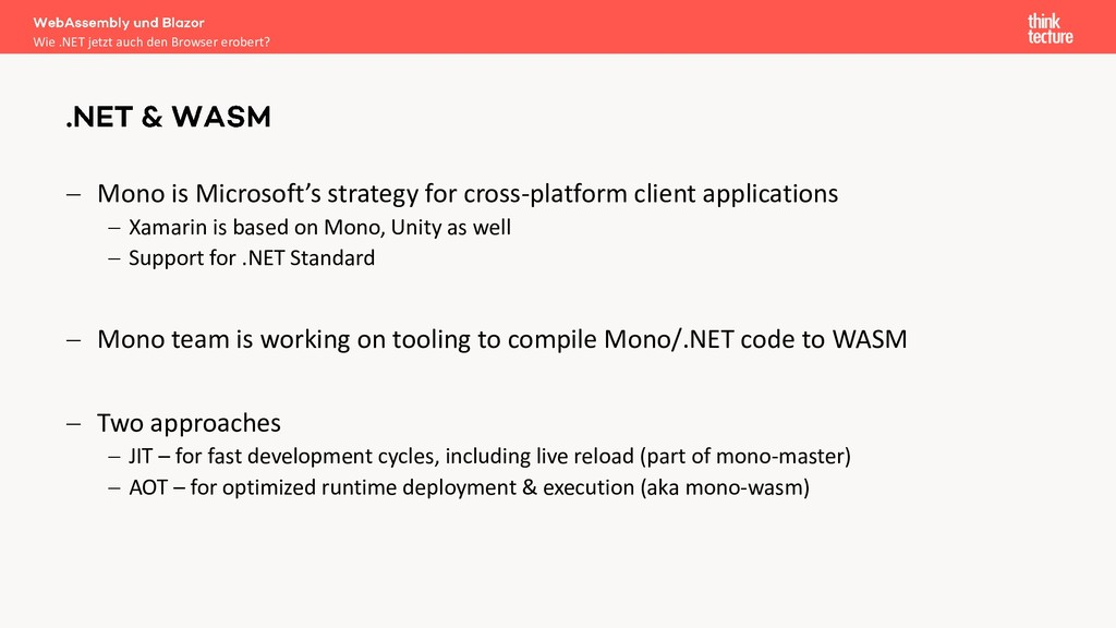 − Mono is Microsoft's strategy for cross-platfo...