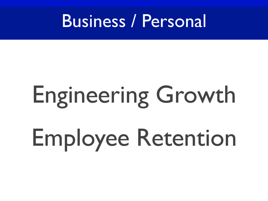 Business / Personal Engineering Growth Employee...