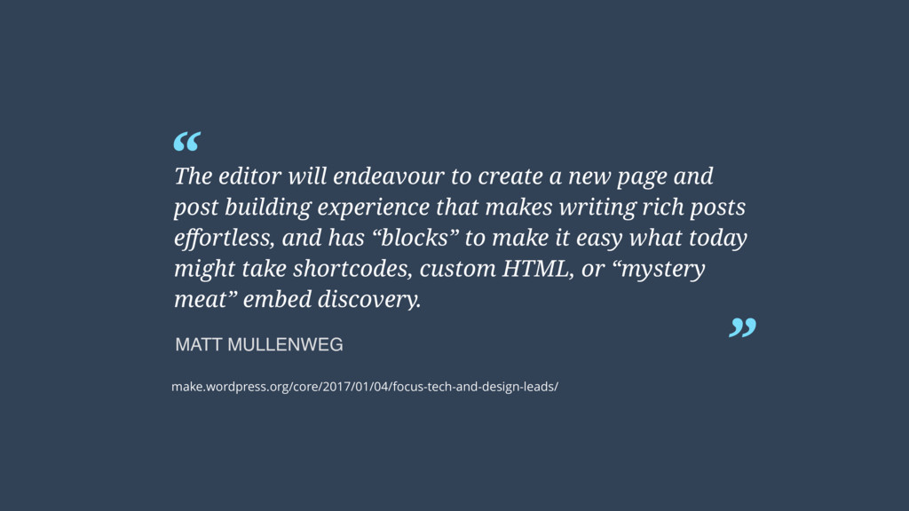 """ "" The editor will endeavour to create a new p..."
