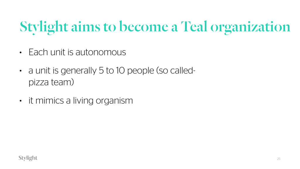 Stylight aims to become a Teal organization 25 ...