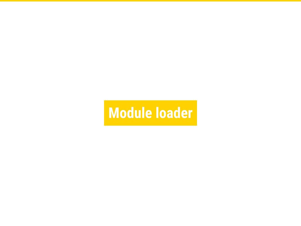 Module loader