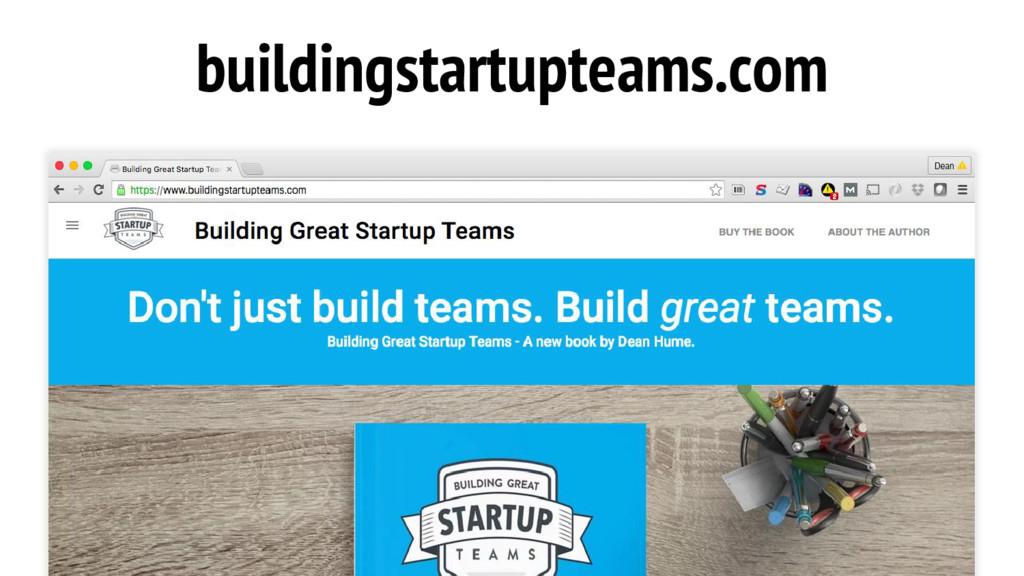 buildingstartupteams.com