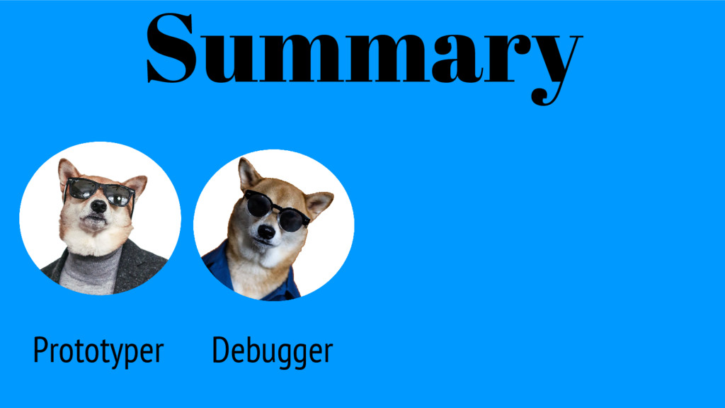 Prototyper Summary Debugger