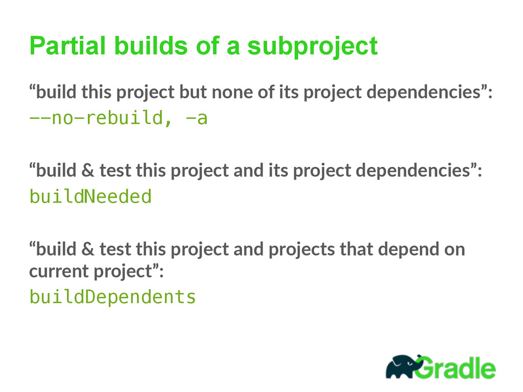 """Partial builds of a subproject """"build this pr..."""