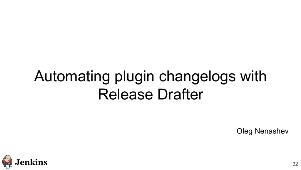 Automating plugin changelogs with Release Draft...