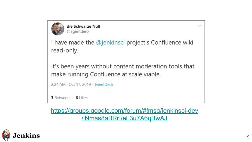 9 https://groups.google.com/forum/#!msg/jenkins...