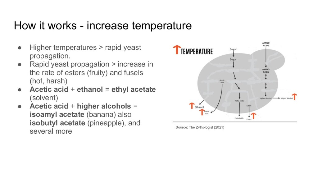 How it works - increase temperature ● Higher te...