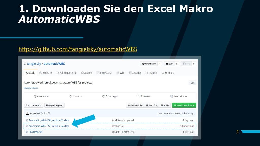 2 1. Downloaden Sie den Excel Makro AutomaticWB...