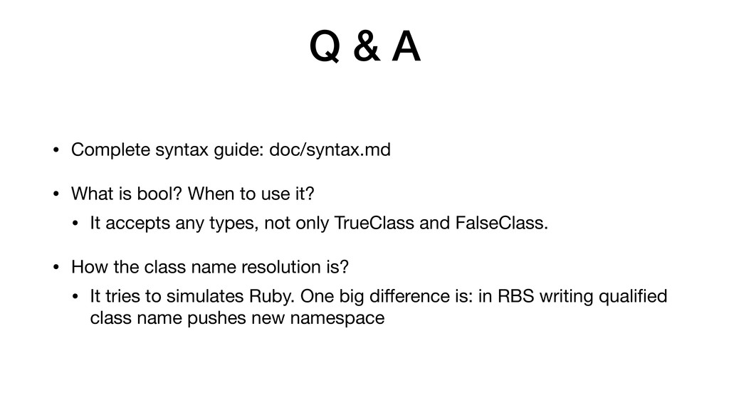 Q & A • Complete syntax guide: doc/syntax.md  •...