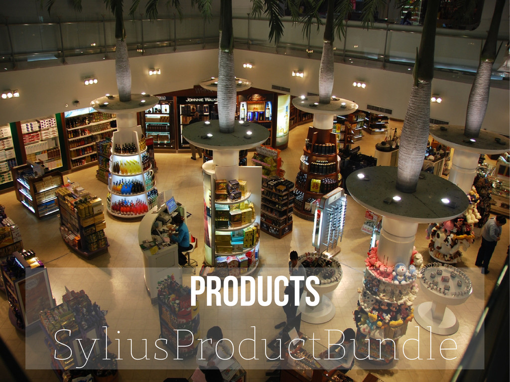 PRODUCTS SyliusProductBundle
