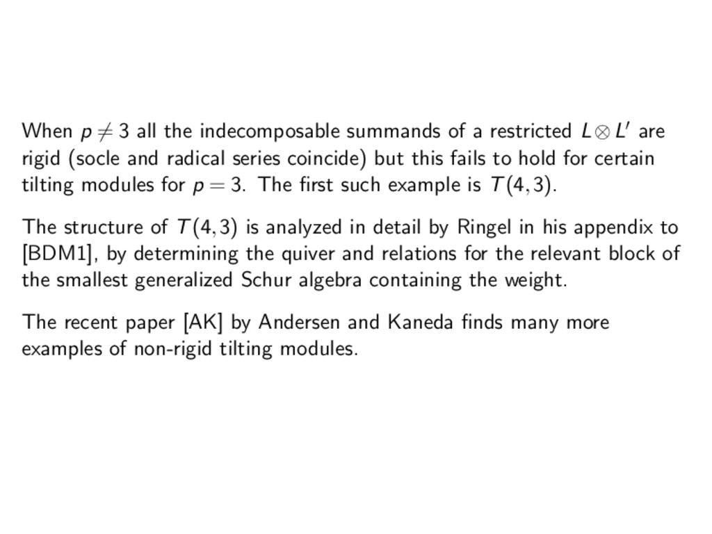 When p = 3 all the indecomposable summands of a...