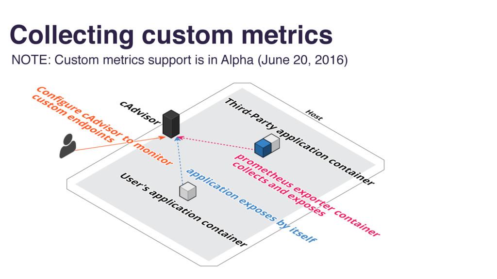 Collecting custom metrics NOTE: Custom metrics ...