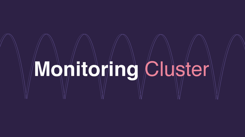 Monitoring Cluster